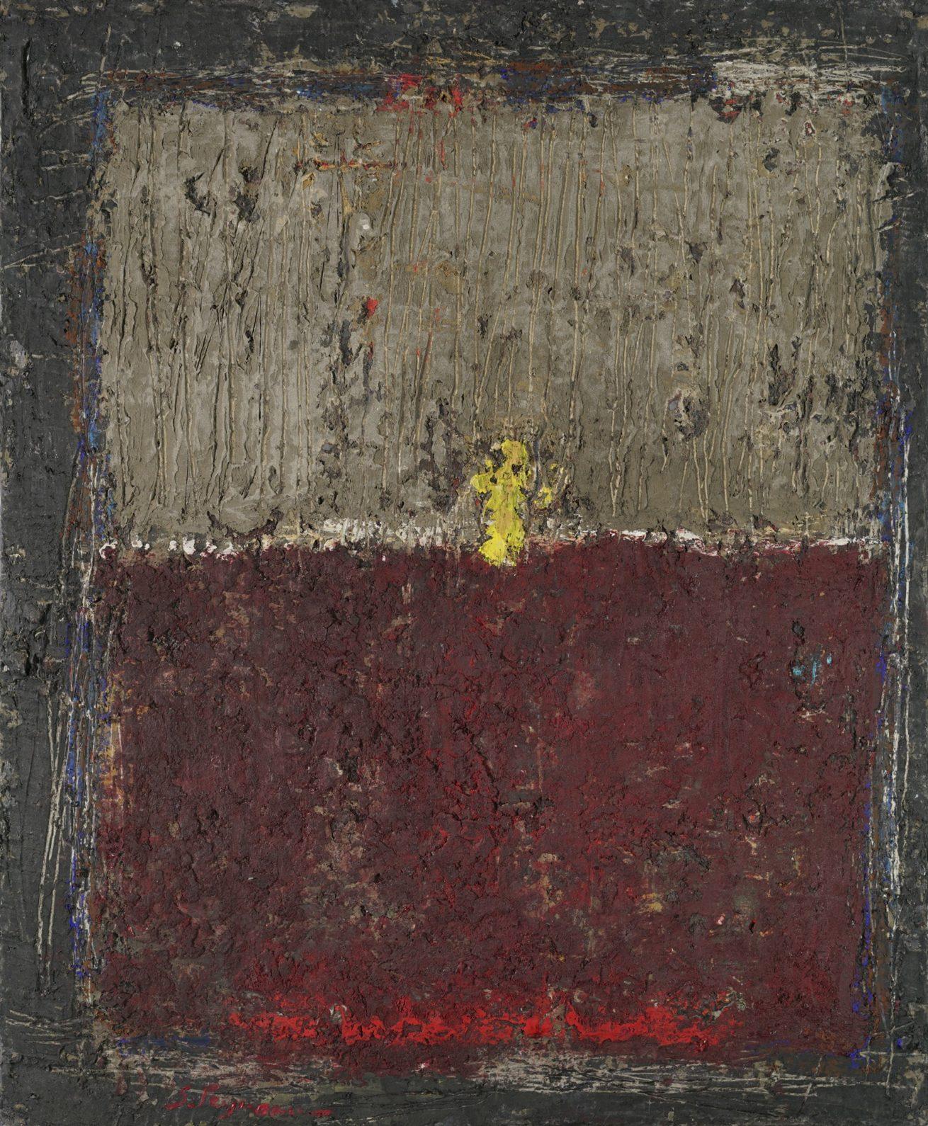 «L'offrande» Huile sur toile Dim60 x73