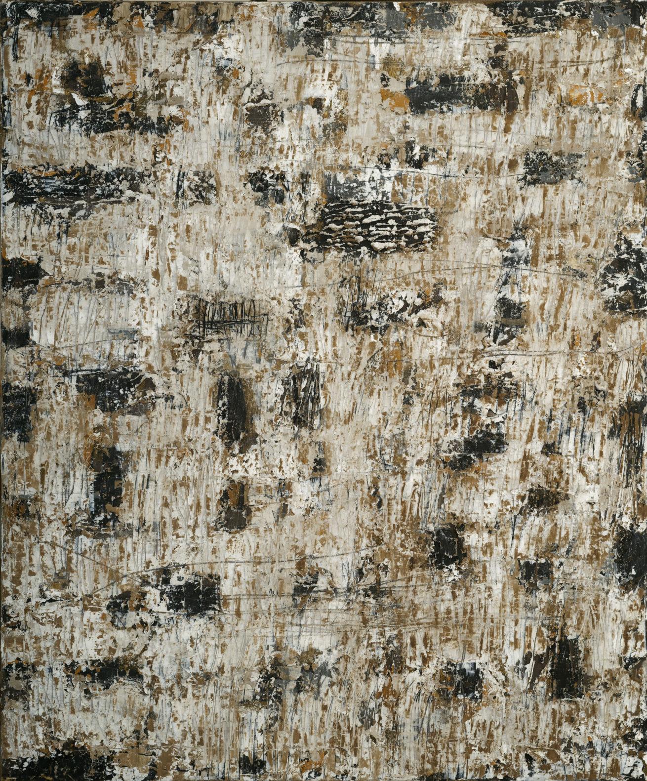 Jardin – Dans le désert Huile sur toile Dim 100 x 120 cm