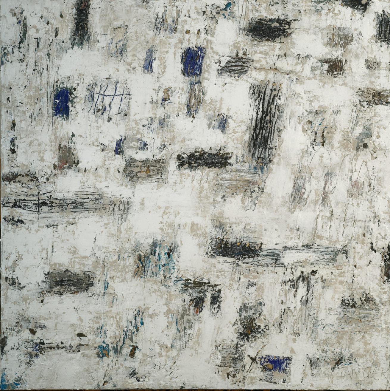 Tanger Huile sur toile Dim 100 x 100 cm